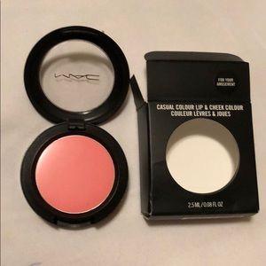 MAC lip & cheek color
